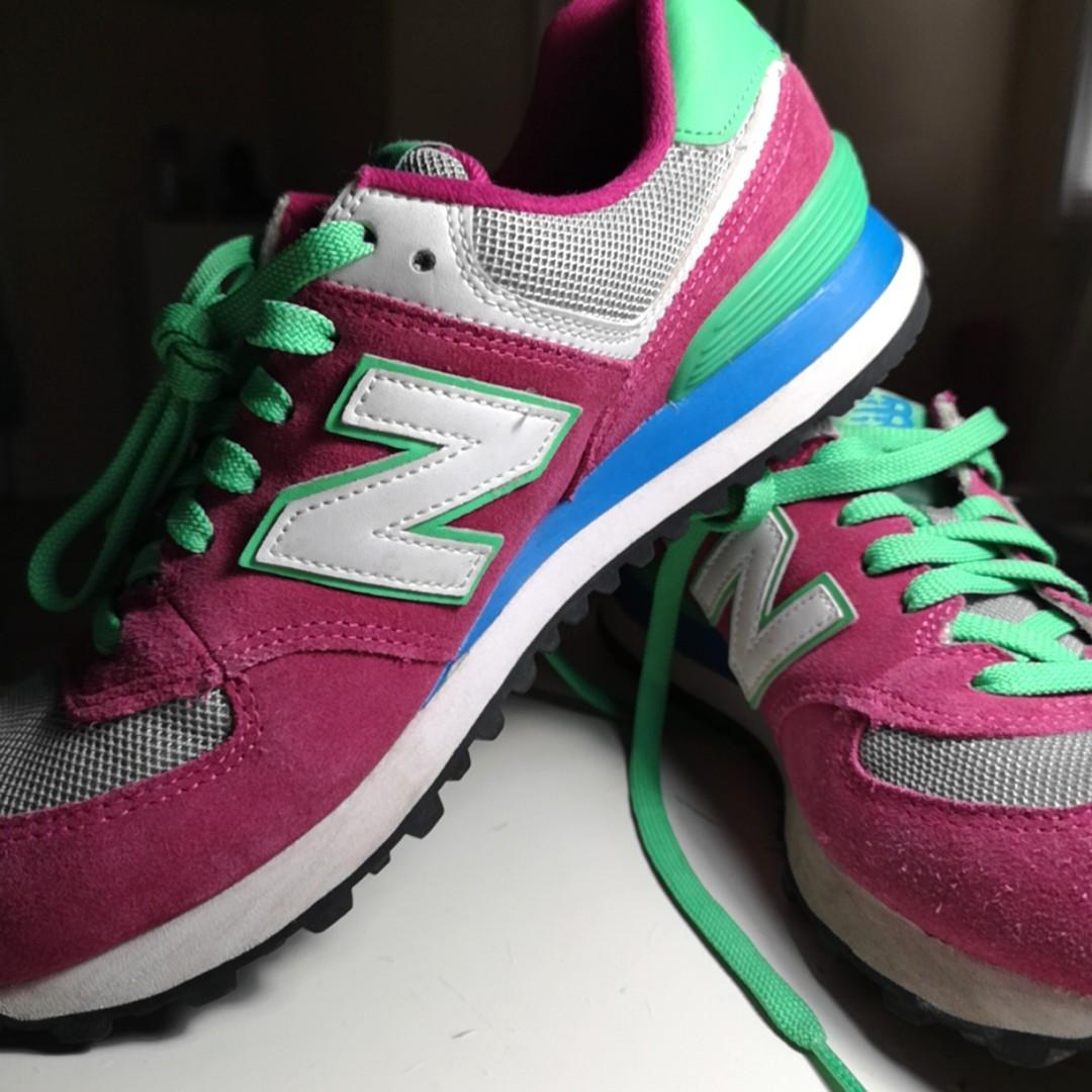 New Balance Women's 574 Shoes Size US 8