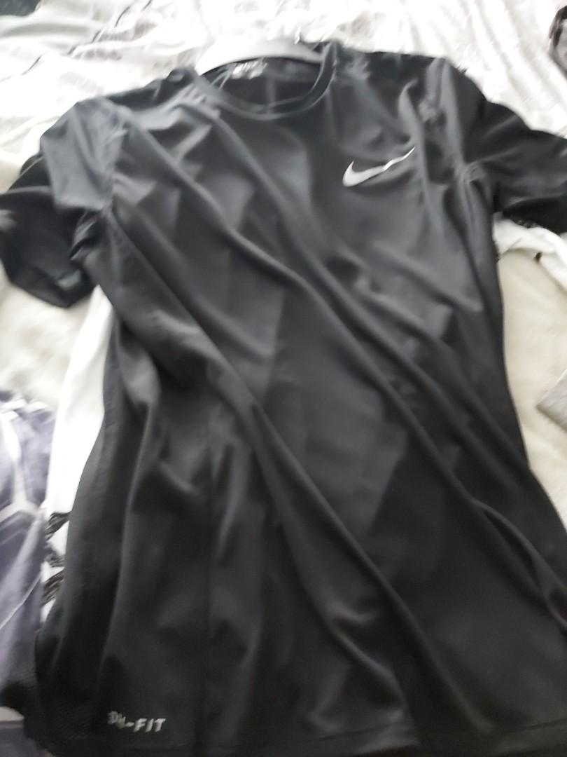 Nike Dri Fit black short sleeve  Medium