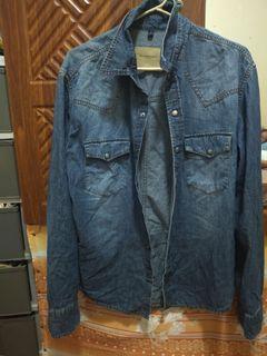 Orig Burberry denim jacket