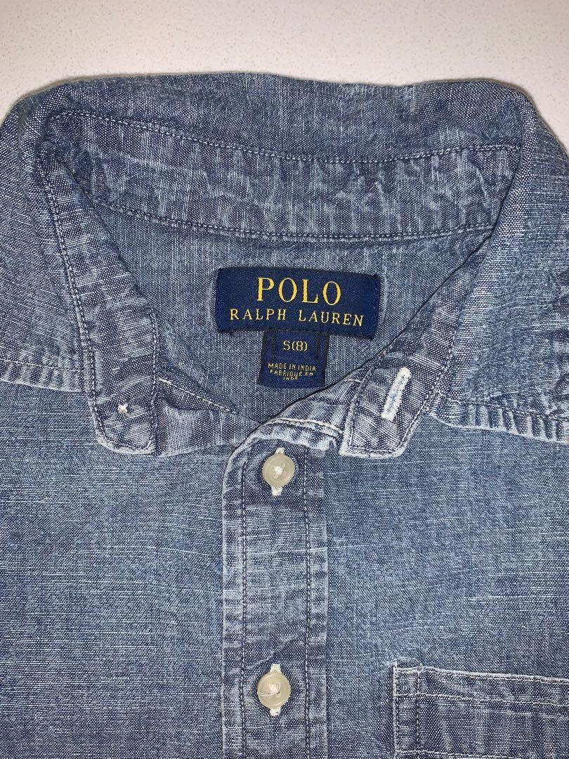 Polo button up