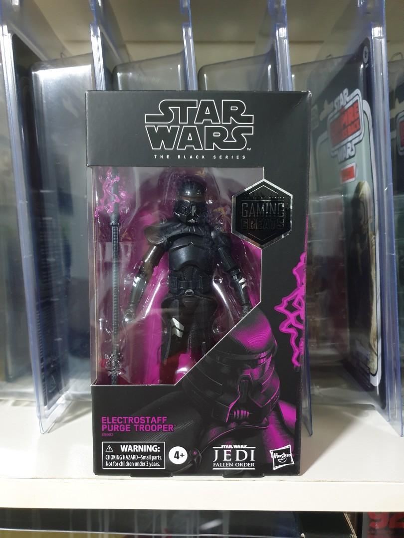 Purge Stormtrooper Electro Staff Not Mint STAR WARS BLACK SERIES 6 Inch