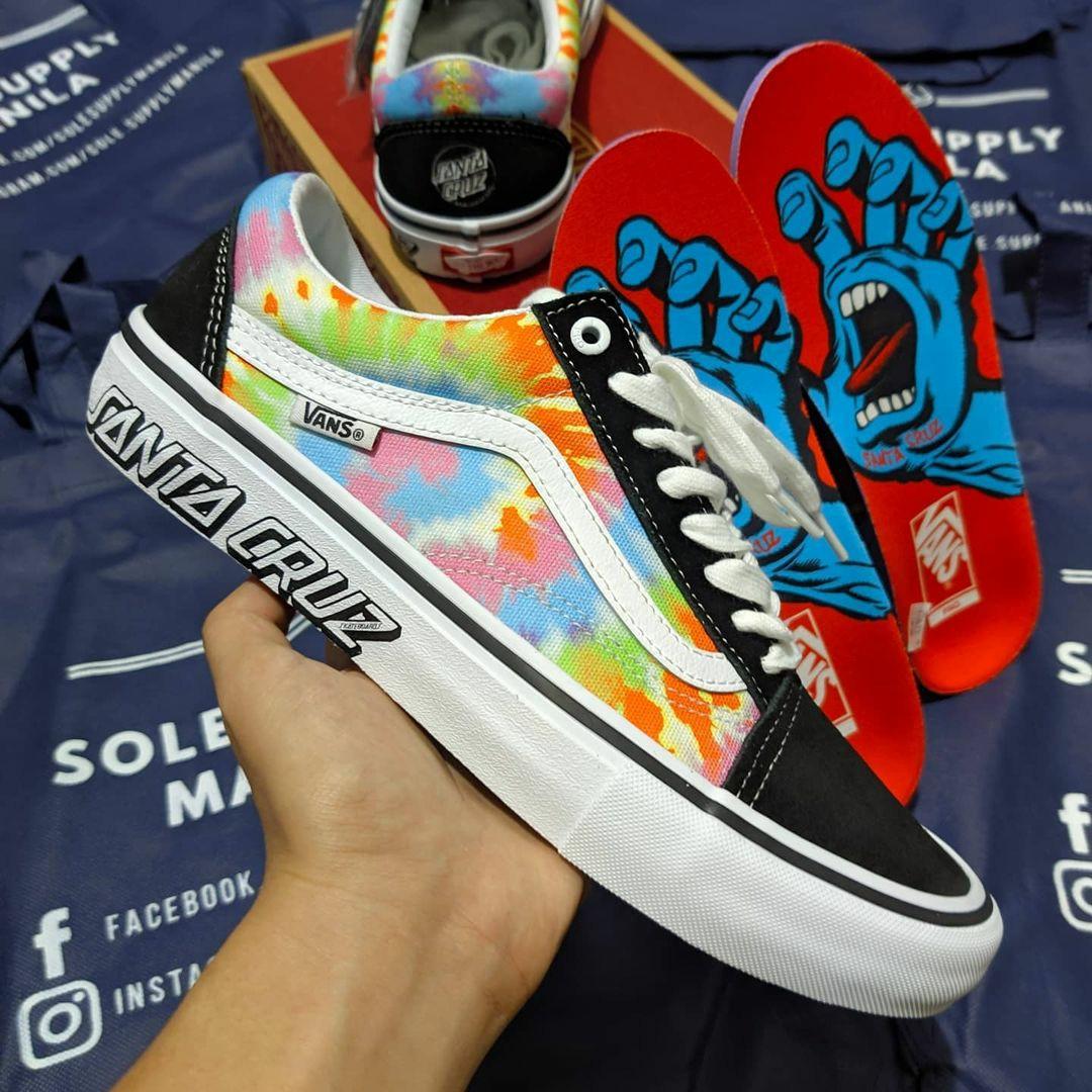 Vans x Santa Cruz Old Skool Pro 'Tie Dye', Men's Fashion, Footwear ...