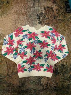 Vintage HAND-KNIT Sweater🌷💕