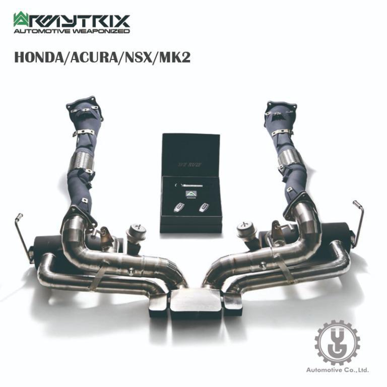 【YGAUTO】Armytrix HONDA/ACURA/NSX/MK2 排氣系統 正品空運