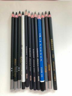 繪圖鉛筆碳筆12支