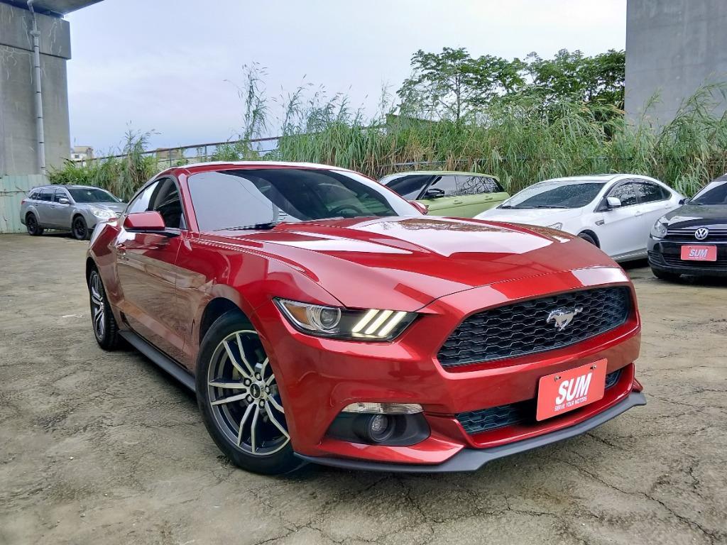 2017年 Ford Mustang EcoBoost 320 實車實價109.8萬  🔥總代理新車價187萬