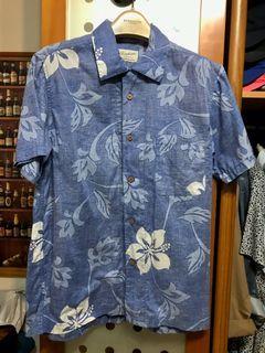 夏威夷度假風短襯衫