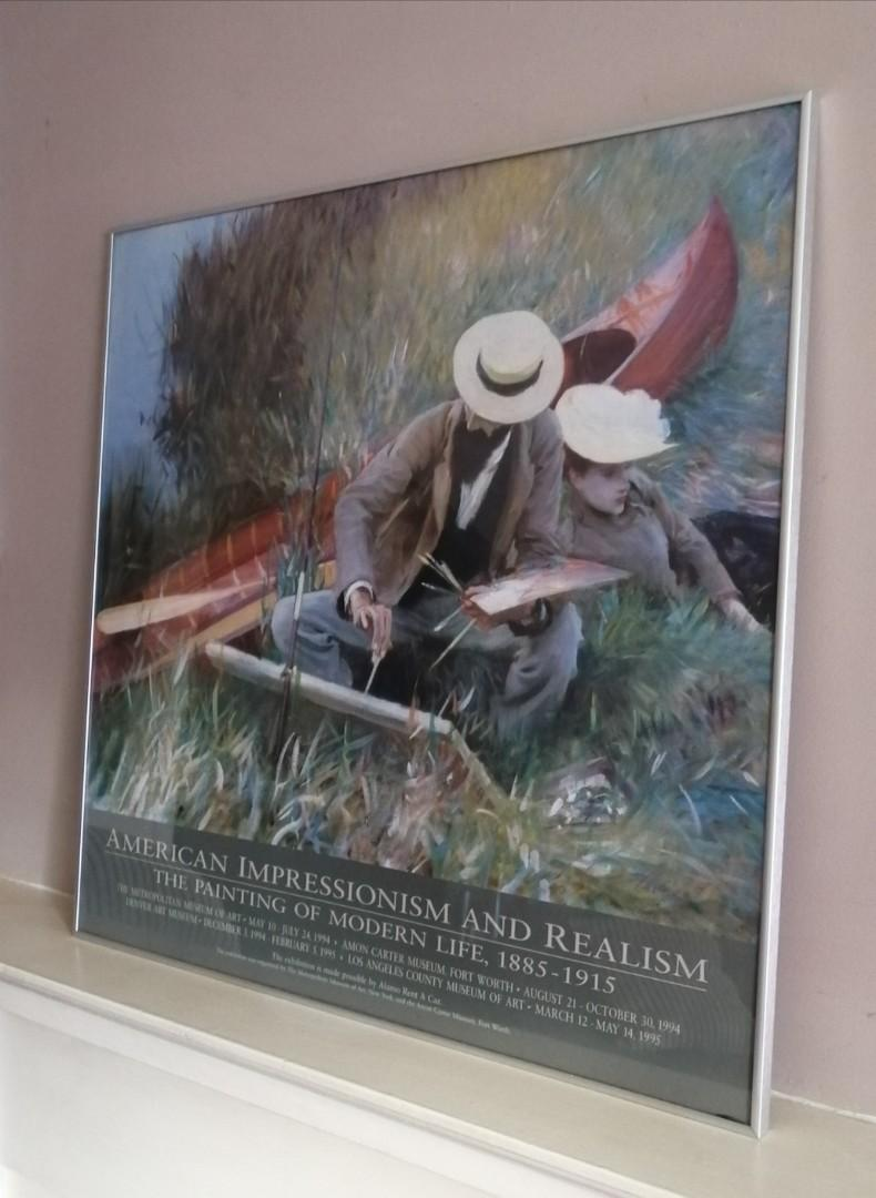 American Gallery Tour Framed Print