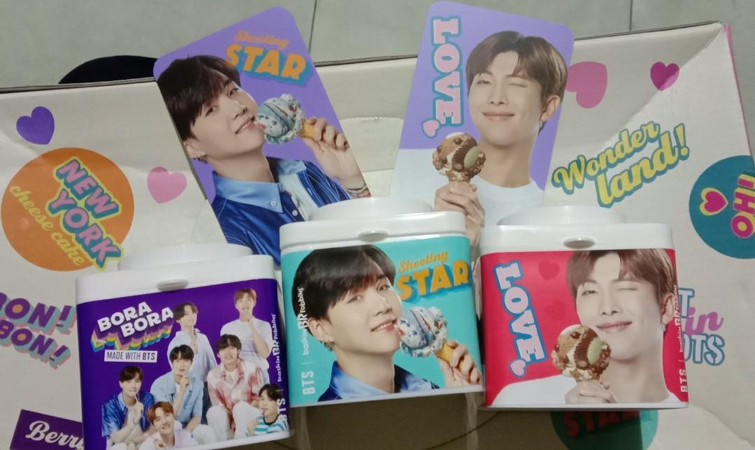 Blockpack Suga, RM dan all member