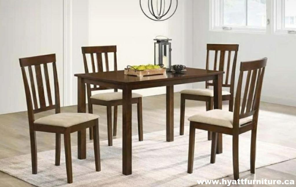 Brand new All 5 Pcs Wooden Dinette