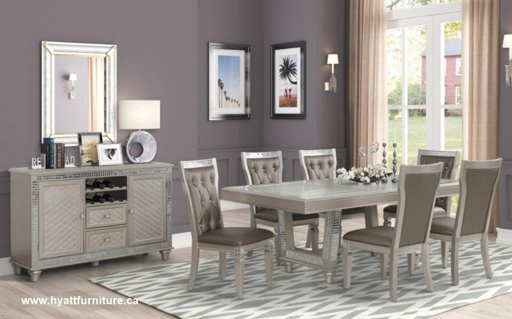 Brand new All 7 PCS Deluxe Dining room Set