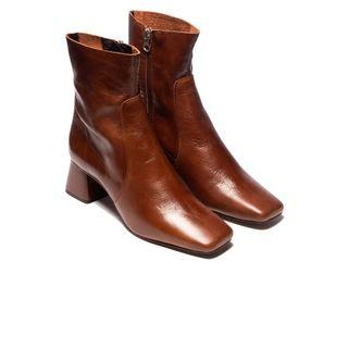 Brand New L'intervalle Leather Boots