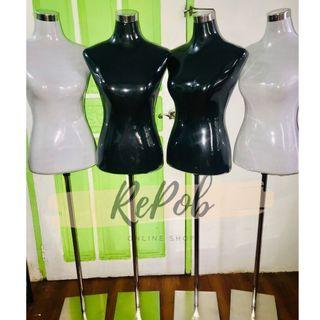 BRANDNEW Fitting Form BLACK/WHITE Mannequin with Stand