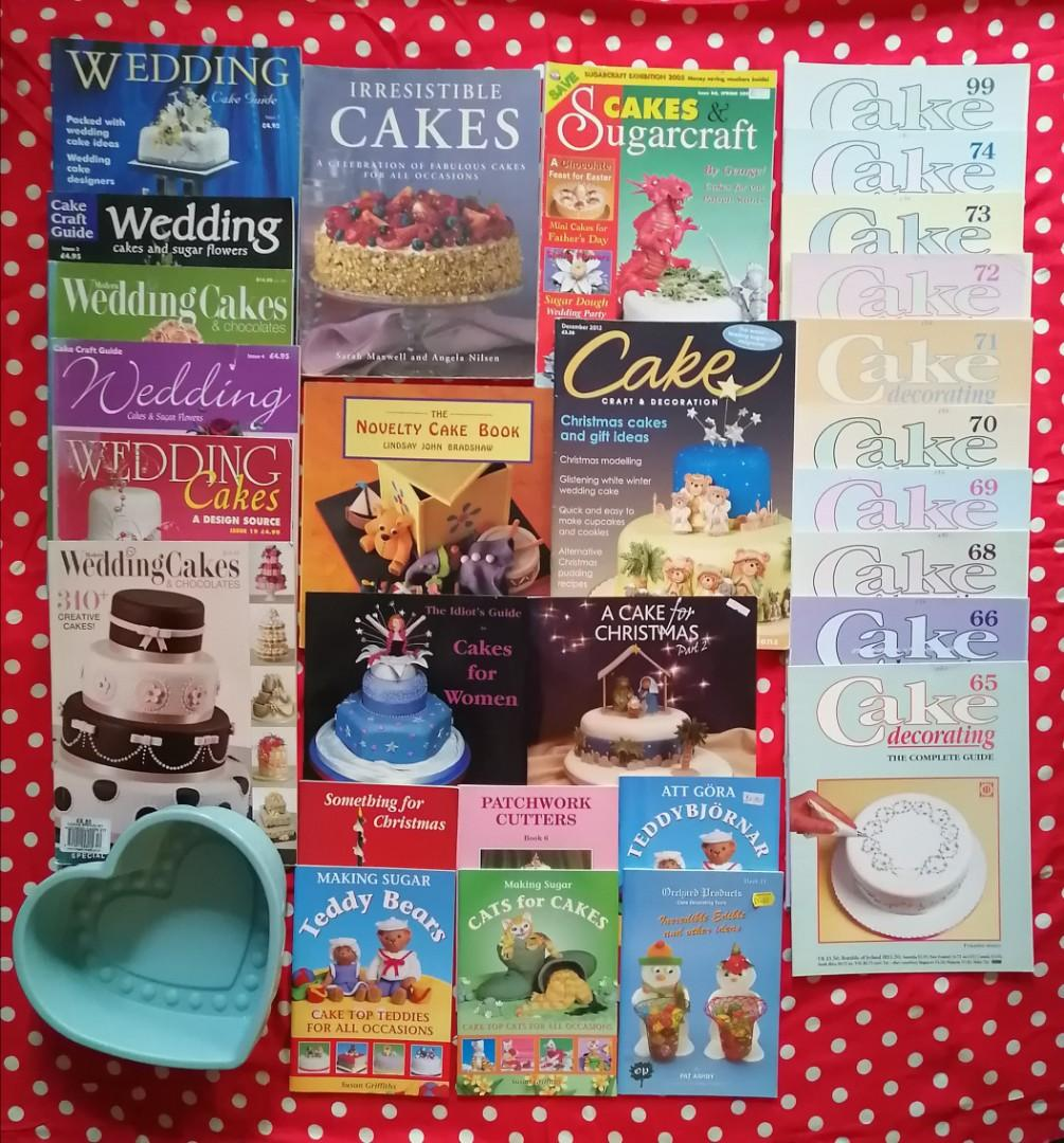 Cake Decorating Book Lot