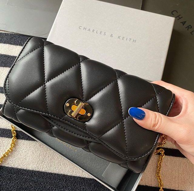Charles and Keith Quilted Turnlock