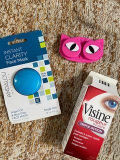 Eye Contact case + goodies