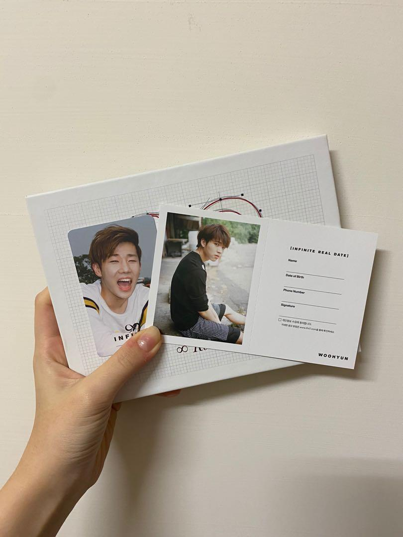 INFINITE 5th reality 專輯 小卡為聖圭和優鉉
