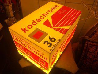 Kodak 柯達 Kodachrome 64 KR 36 底片盒 造型 燈箱 開店 擺飾 酒吧