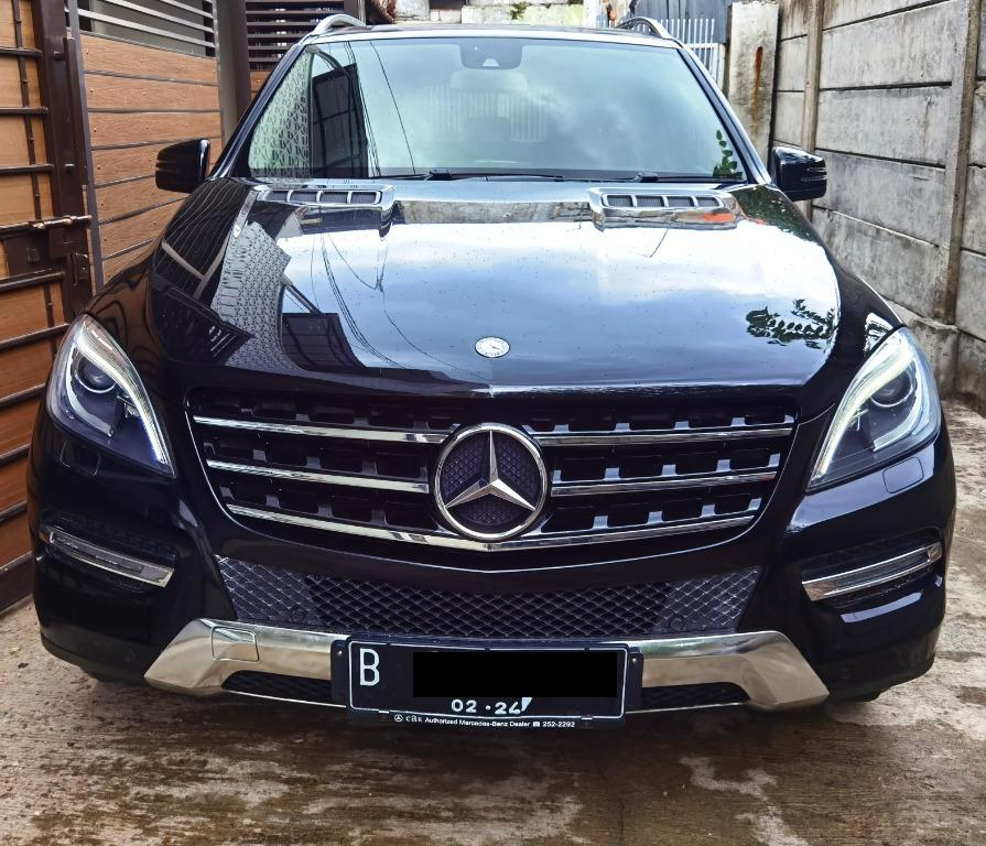 Mercedes Benz Mercy ML350 W166 CBU 2013 Hitam Odo 37Rb Perfect - Record Mercy
