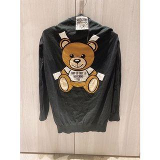 moschino 長版小熊針織衣