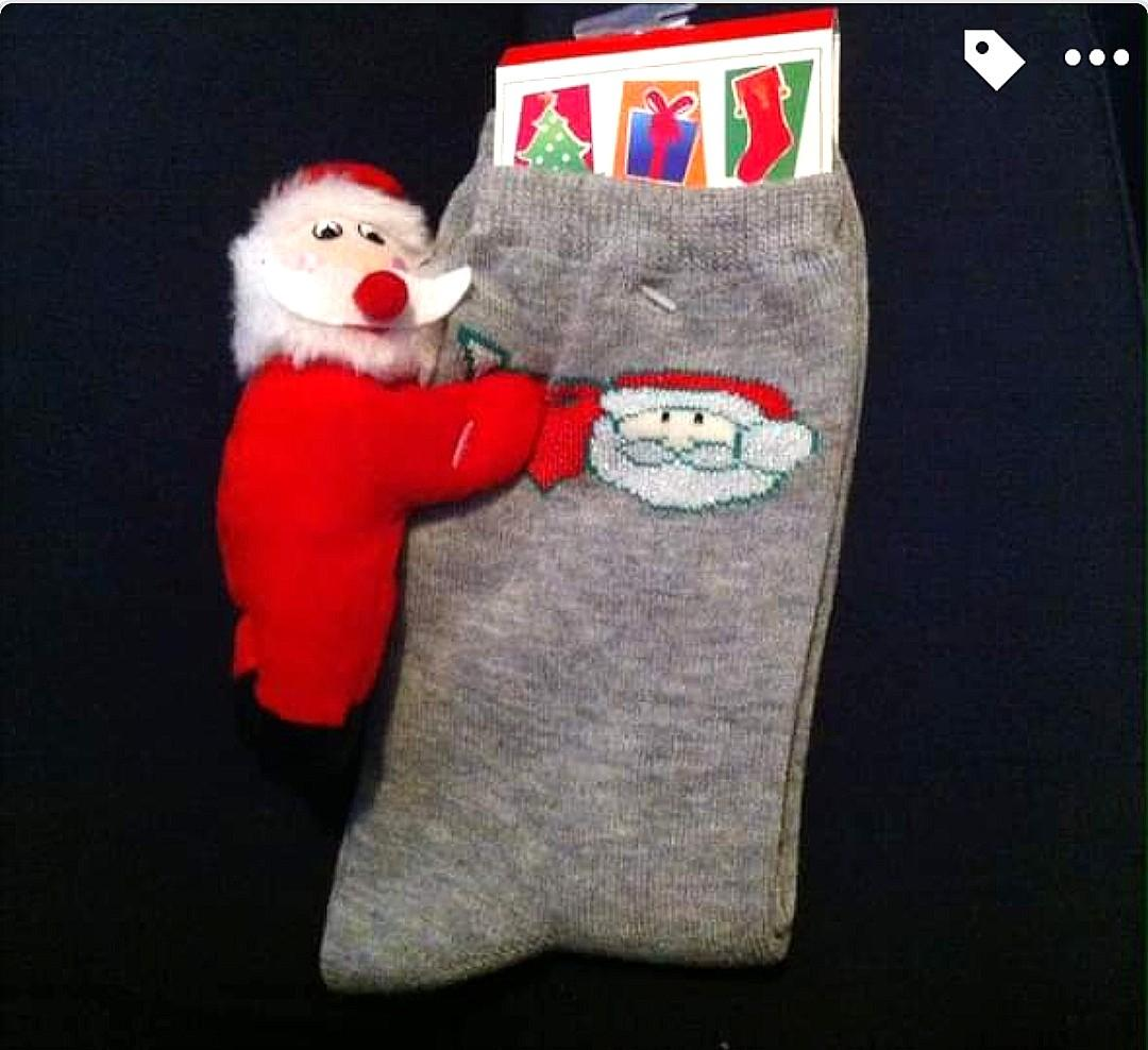 NEW Santa Socks