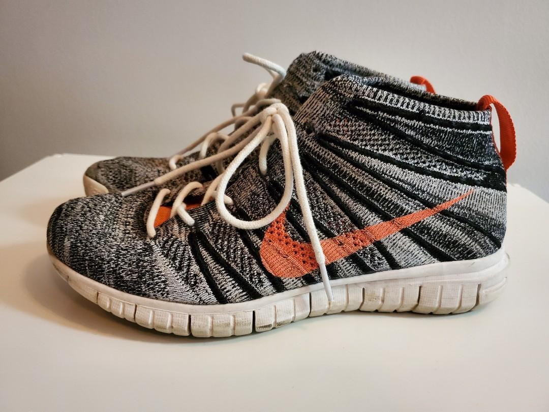Nike Flyknit Chukka High Rise Sneaker - Size 7.5