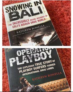 BIOGRAPHY BOOK COMBO BY  Kathryn Bonella (two in one) DISCOUNTED PRICE!