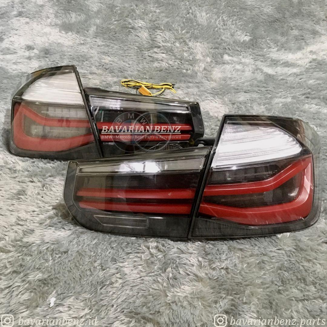 Tail Light LED BMW f30 Stop Lamp Black Smoke M Performance Sequential