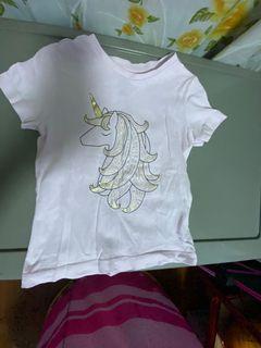 Unicorn Shirt/top for toddler