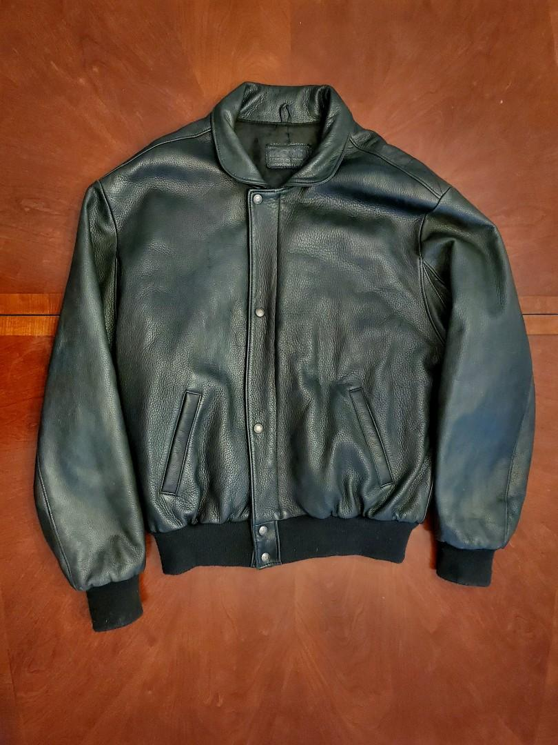 Vintage 90's Roots Genuine Leather Jacket