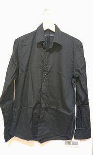 熱舞低調黑長袖襯衫