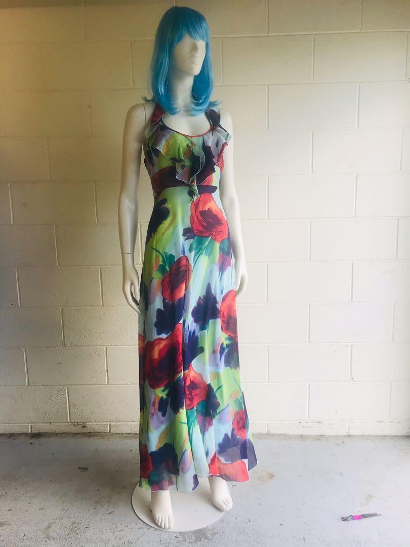 Chiffon Spring Flower Dress