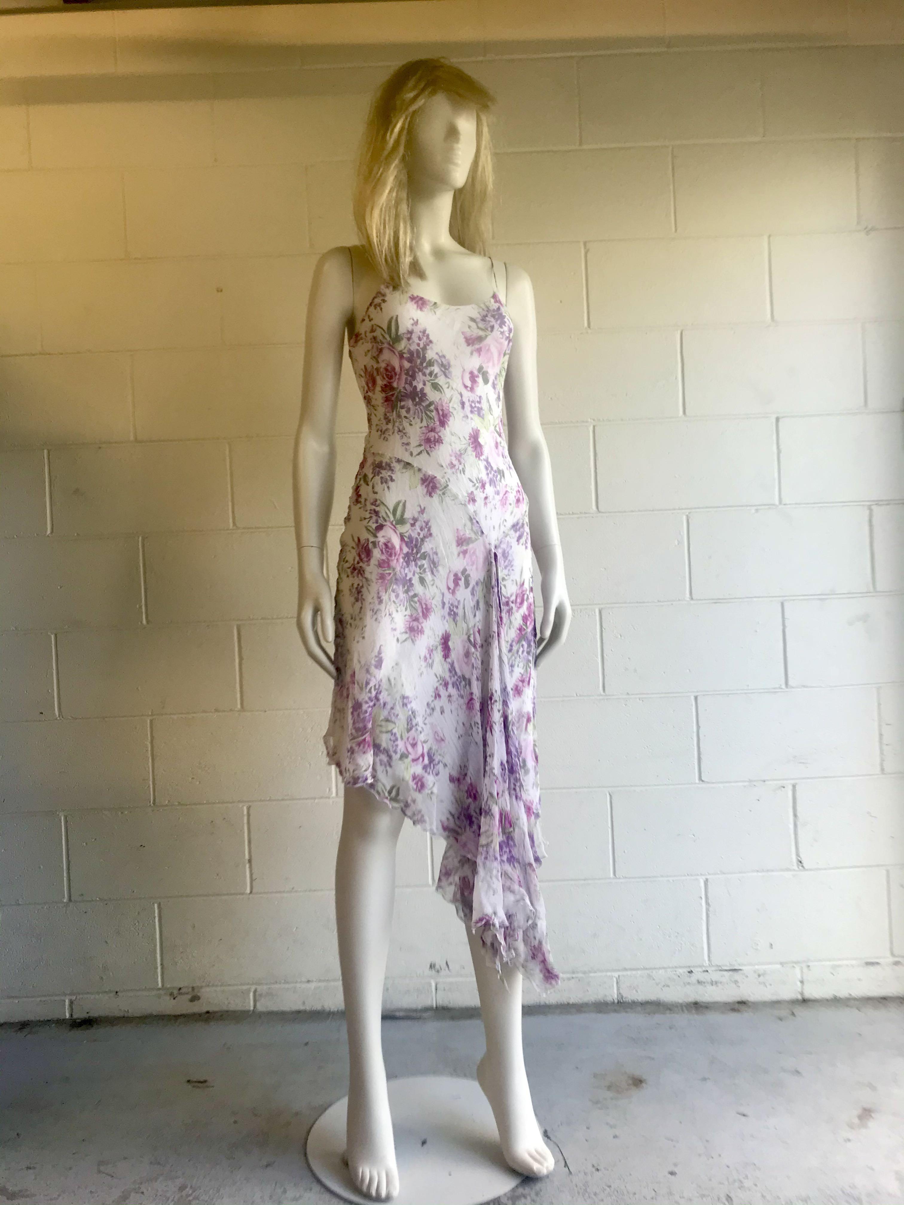 Elegant Flowy White Dress