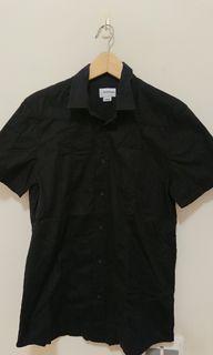ENERGIE 黑色短袖襯衫