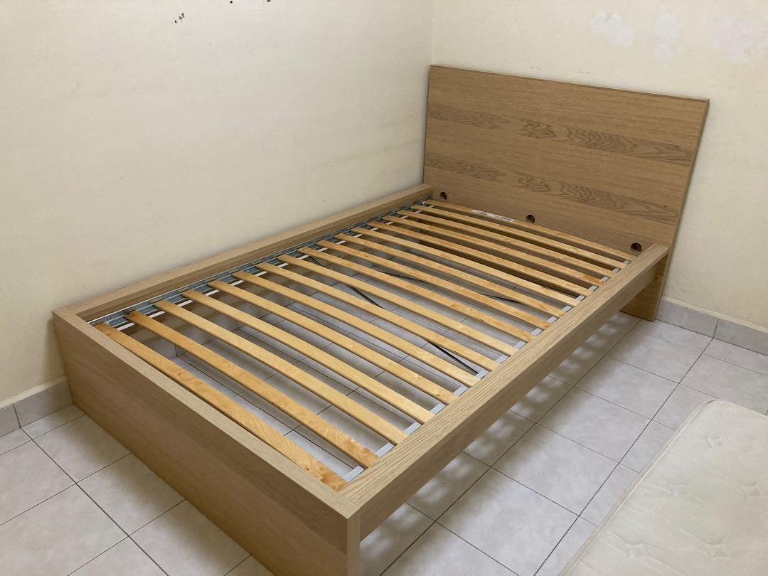 Ikea Malm Super Single Bed Frame Home Furniture Furniture On Carousell
