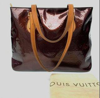 LOUIS VUITTON  amarante monogram vernis  Brentwood Totebags 2007 with Replacement DB, size 40 x 38cm