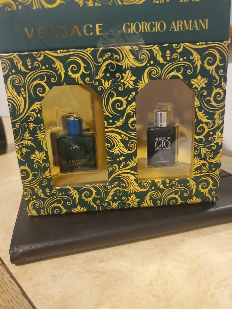 Mens fragrance sampler with a coupon for a full bottle of your favourite choice