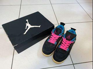 Nike Air Jordan 4代 泡泡先生 南灣 潑漆