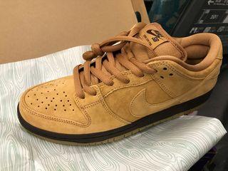 Nike SB dunk low pro Wheat us9 27cm