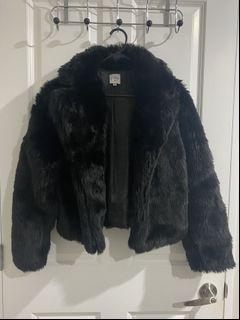 Princess Polly- Faux Fur Jacket