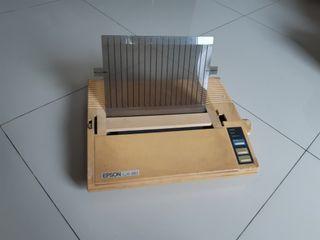 PRINTER EPSON LX-80 / LX80
