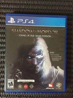 PS4 Games - Shadow of Mordor