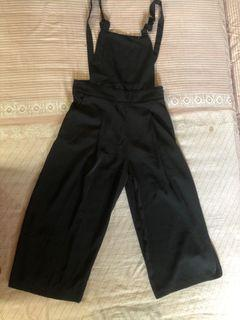 Stradivarius black jumpsuits