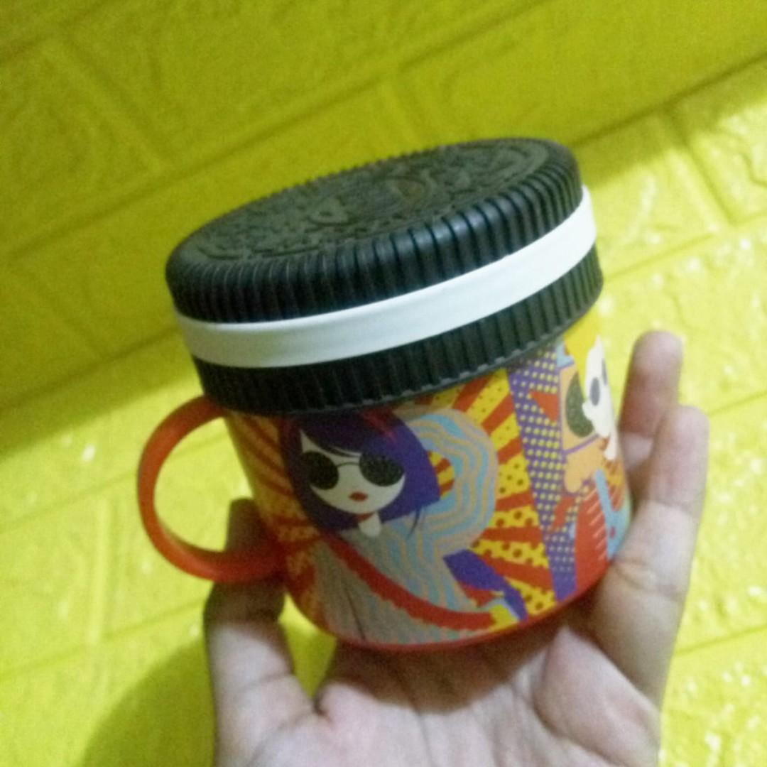 #1212special Mug/Gelas Bentuk Oreo