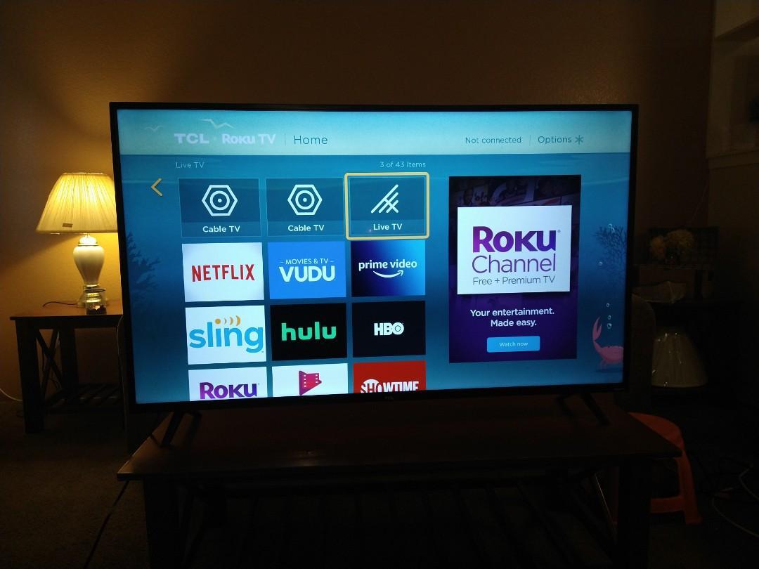 55 inch roku TV