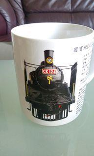 國寶級CK124蒸汽火車 收藏杯