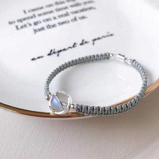 天然  藍晶石 鷹眼石 月光石 手珠 手鍊 時尚百搭 改善磁場 網美必備 亮眼穿搭 女神必備