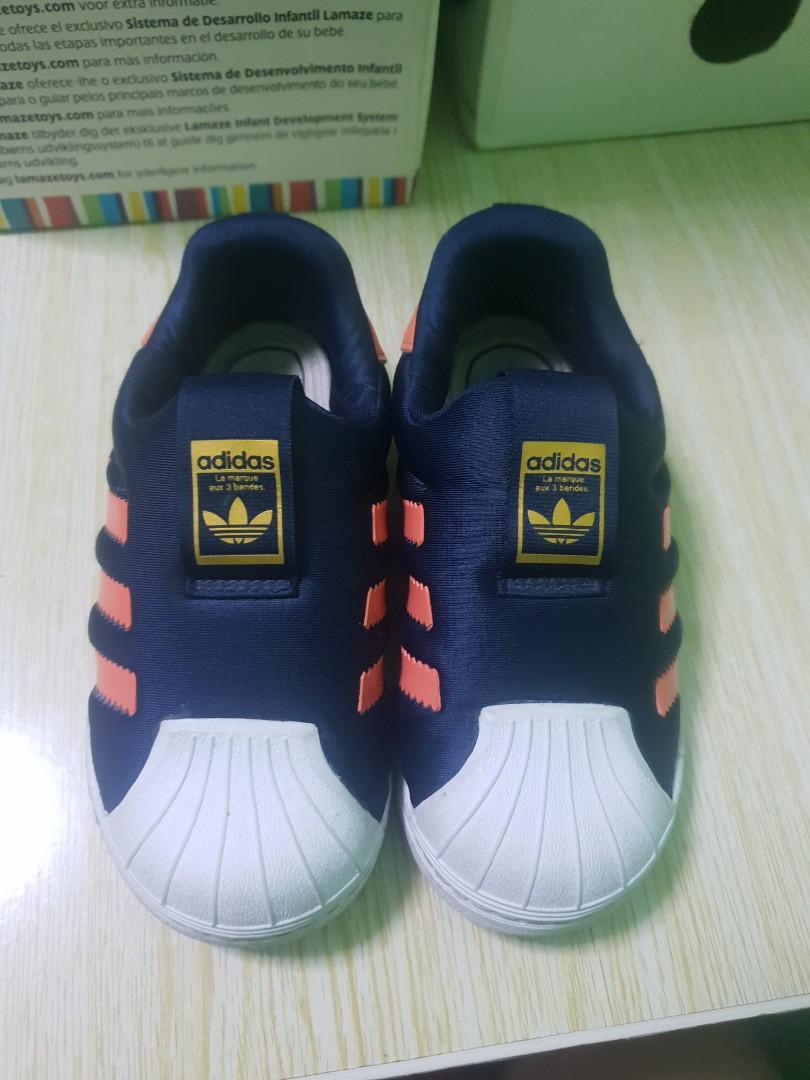 consumidor Dato Conquistador  ADIDAS SUPERSTAR ORTHOLITE, Babies & Kids, Boys' Apparel, 1 to 3 Years on  Carousell