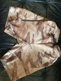 AROO 機能訓練迷彩短褲 M號