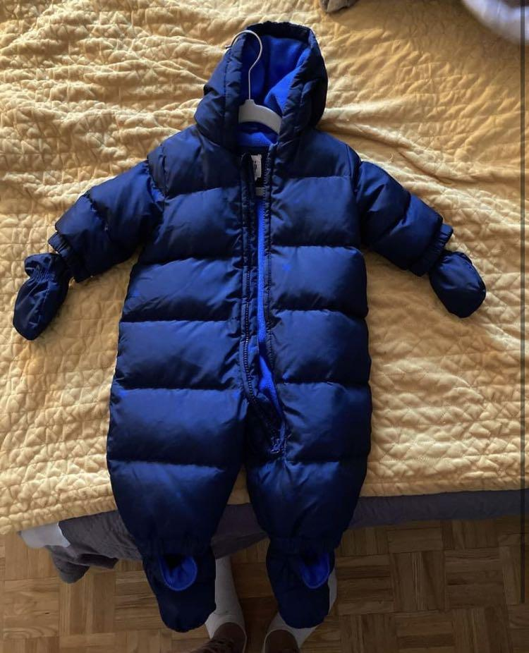 Baby gap snowsuit